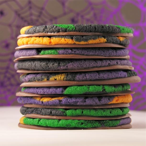 Halloween Swirl Cookies!!!!