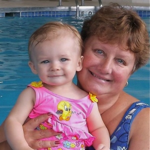 Aunt Sarah and her granddaughter Sierra