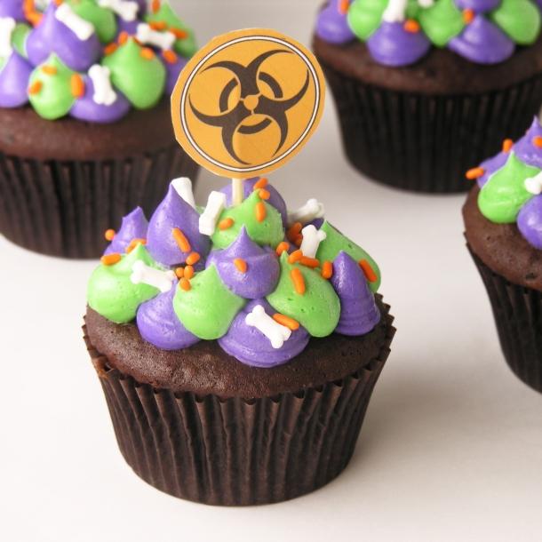Radioactive Cupcakes!!!