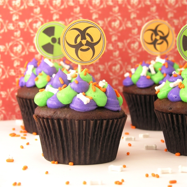 Radioactive Cupcakes3