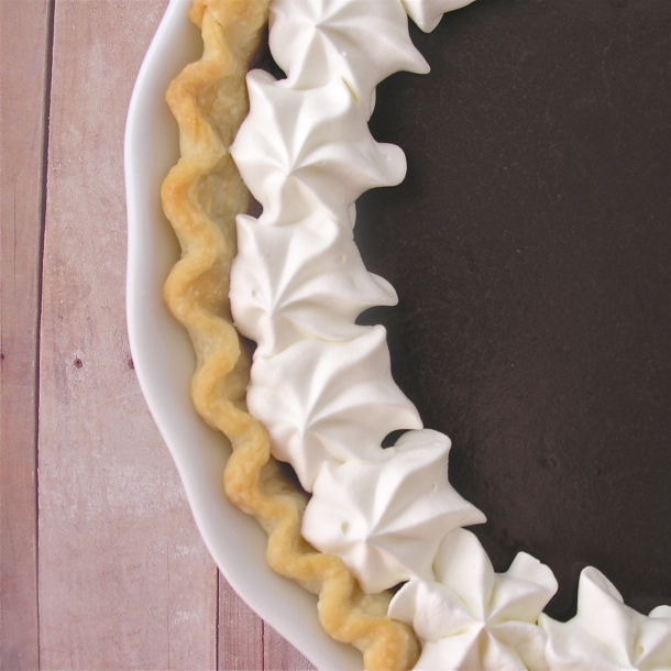 Creamy Chocolate Pie!