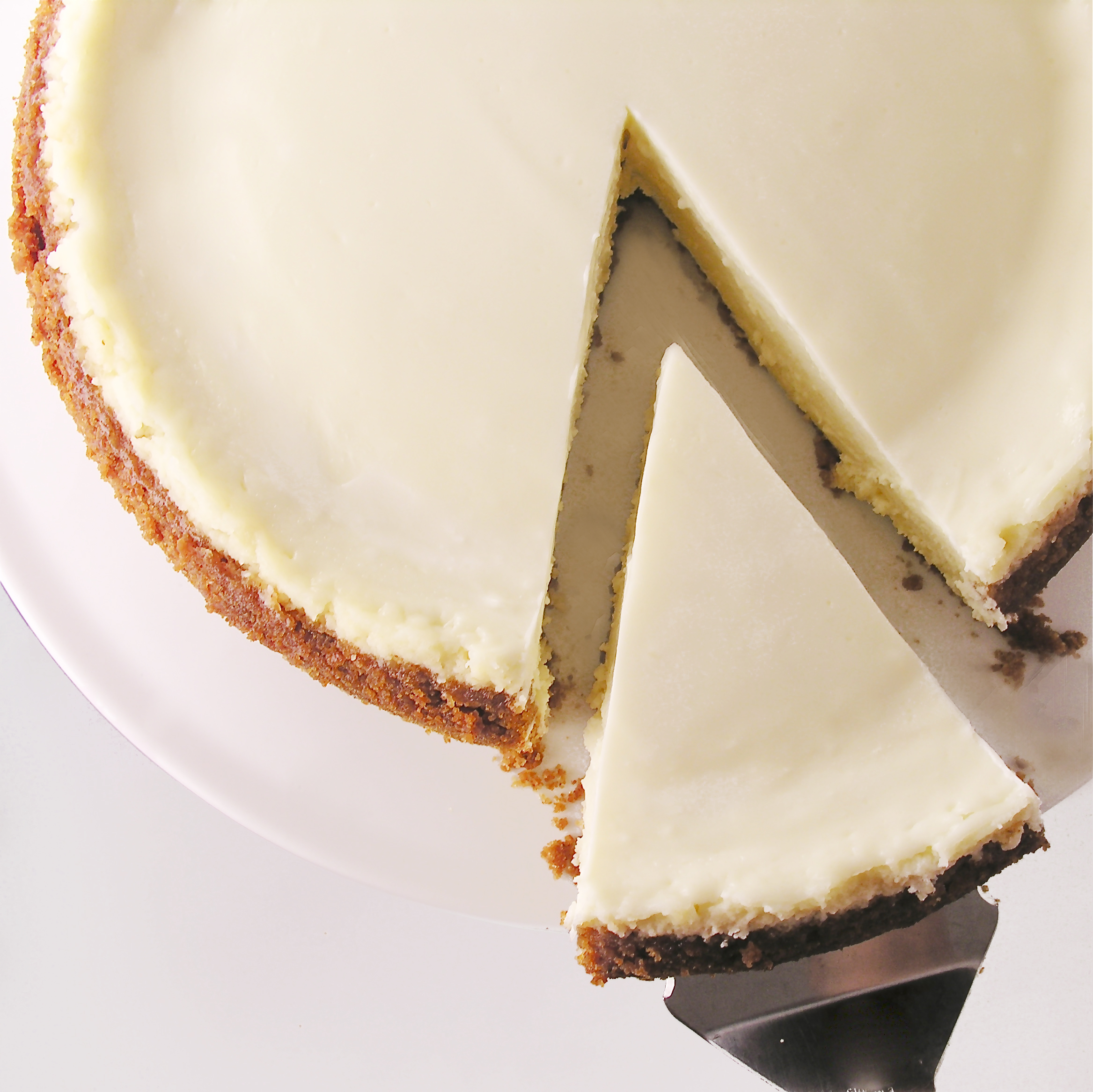 Classic Cheesecake With Sour Cream Topping Easybaked Double Layer Cheese Cake Original Creamy