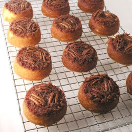 Cinnamon Upside Down Cakes2