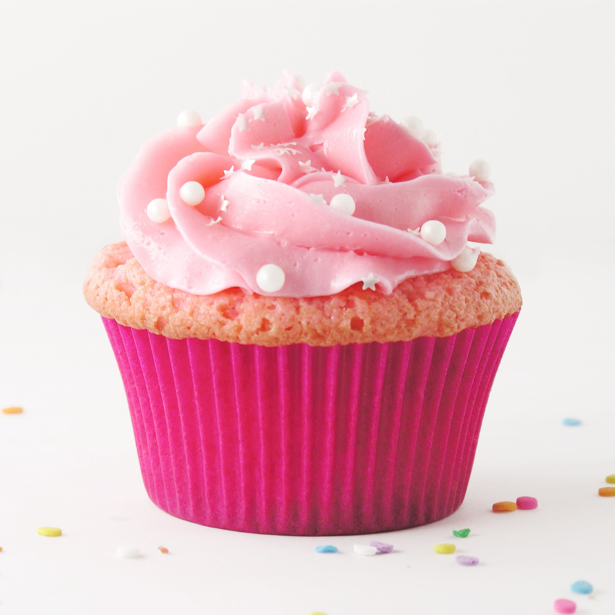 Pink Champagne Cupcakes Cupcakes