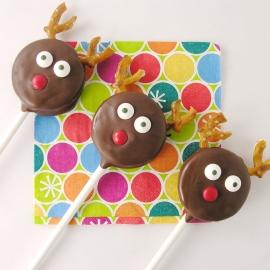 Reindeer Oreo Pops!!!