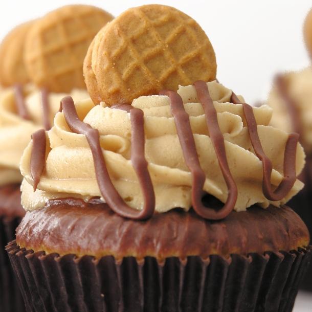 Peanut Butter Cupcakes!!!!