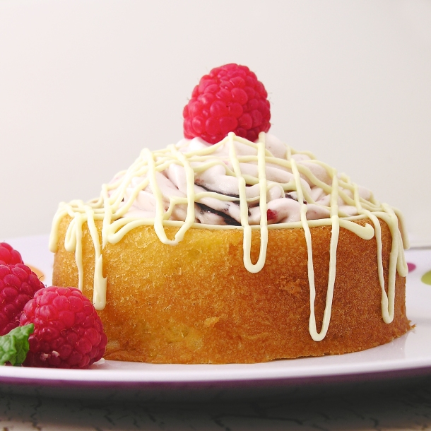 Raspberry Lemon drop cakes!!