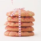 White Chocolate Strawberry Cookies!!