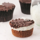 Coconut Brownie Cups