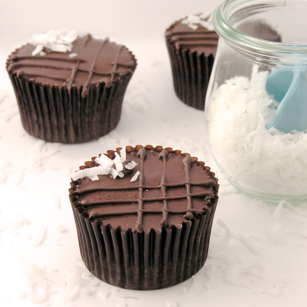 Coconut Brownie Cups!!!