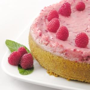 Chocolate Raspberry Cheesecake!!