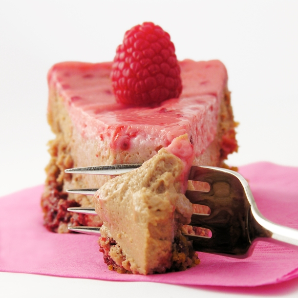 Chocolate Raspberry Cheesecake!!