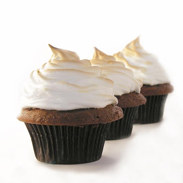 Baked Alaska Cupcakes!