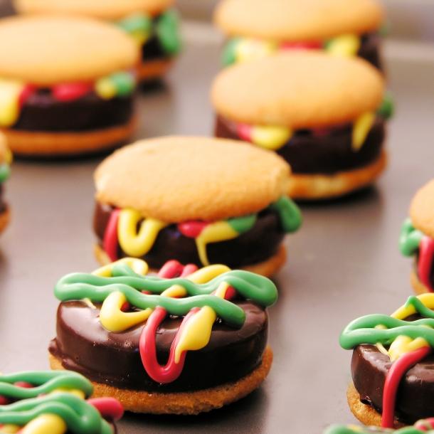 Hamburger Cookies!!!