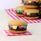 Hamburger Cookie!