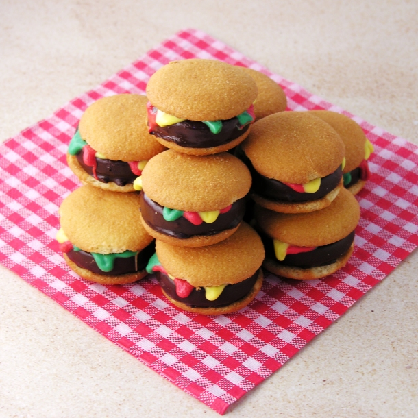 Hamburger Cookies!!