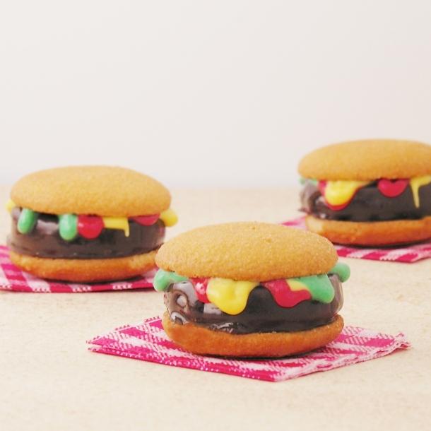 Hamburger Cookies!!!!