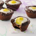 Cadbury Egg Cookie Cups!!!!