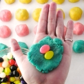 Making Jelly Bean cookies