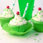 Lime Soda Cupcakes!!!!
