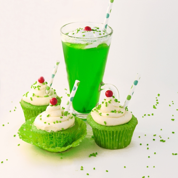 Lime Soda Cupcakes!!