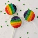 Rainbow Oreo Pops!!!!