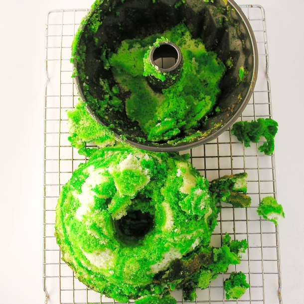 Bundt Cake disaster!