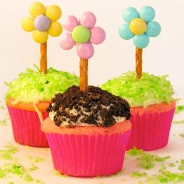 Flower Pot Cupcakes!!!