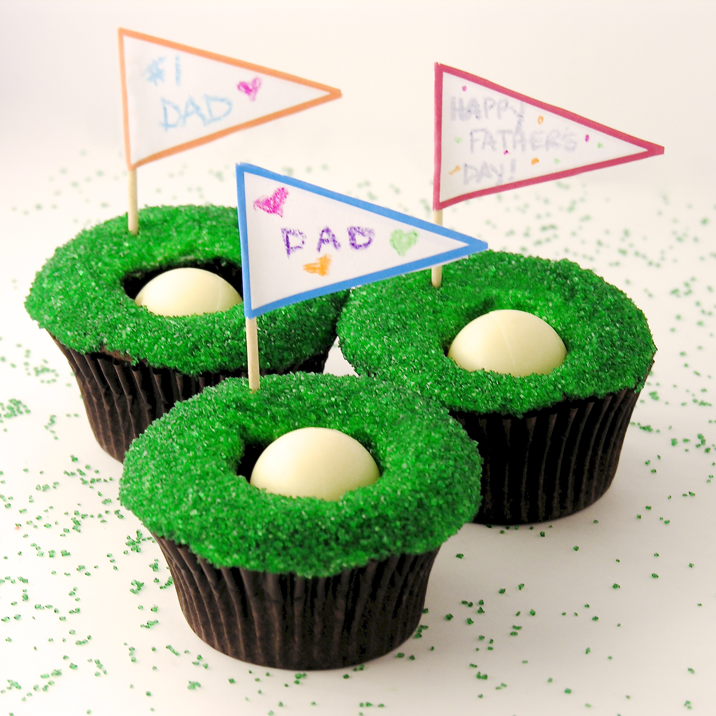 Hole in One Cupcakes!! | eASYbAKED