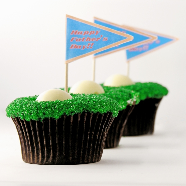 Hole in One Cupcakes!!