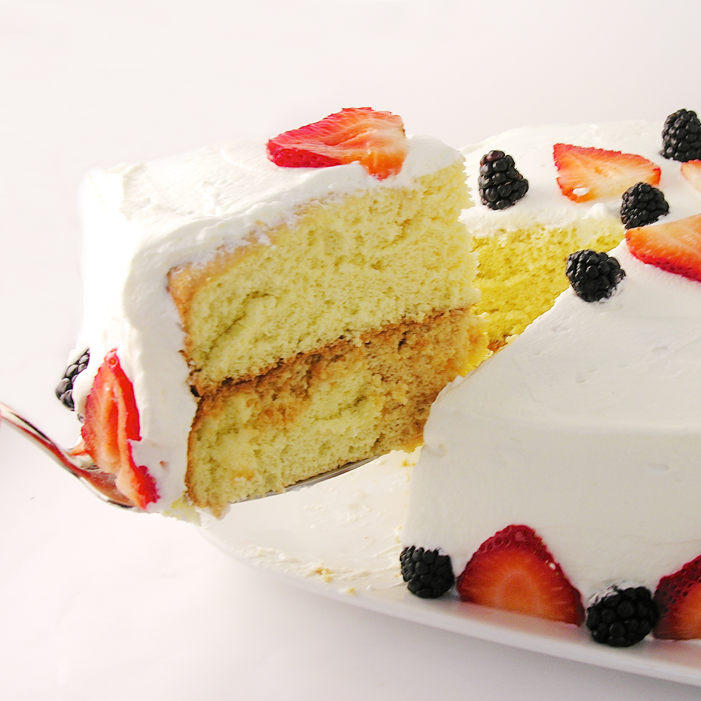 Tres Leches Layer Cake eASYbAKED