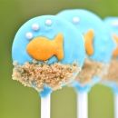 Goldfish Oreo Pops!