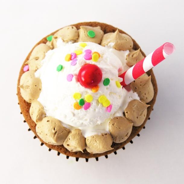 Root Beer Float Cupcakes!!!