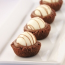 Triple Chocolate Truffle Cups