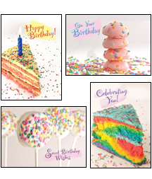 Sprinkles Birthday Cards