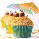 Pina Colada Cupcakes!