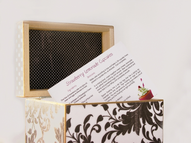 Recipe Box Note Cards