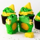 Green Bay Packer Cupcakes!