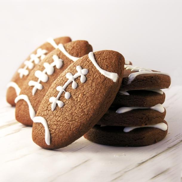 Football Cookies!!!!!