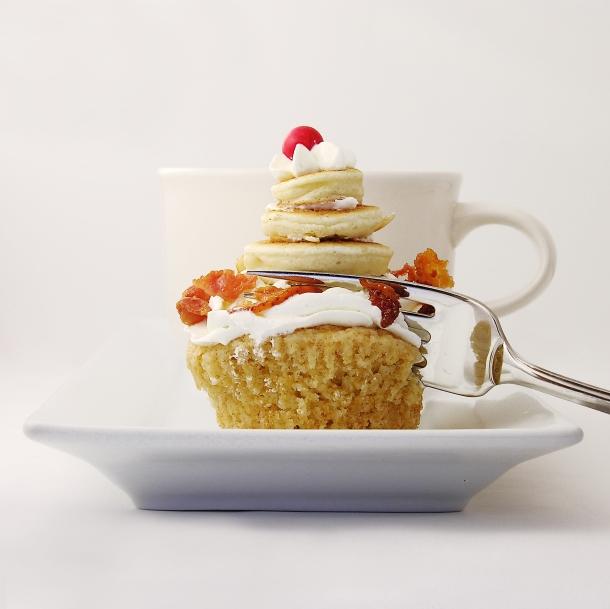 Pancake and Bacon Cupcakes!