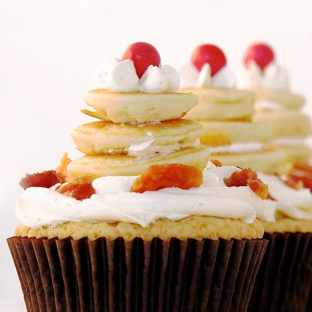 Pancake Cupcakes!!!