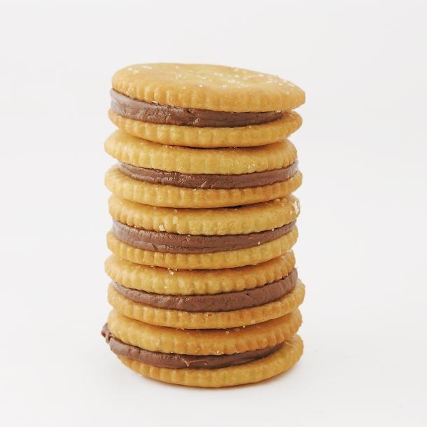 Caramel Rolo Ritz Cookies
