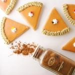 Pumpkin Pie Cutout cookies!