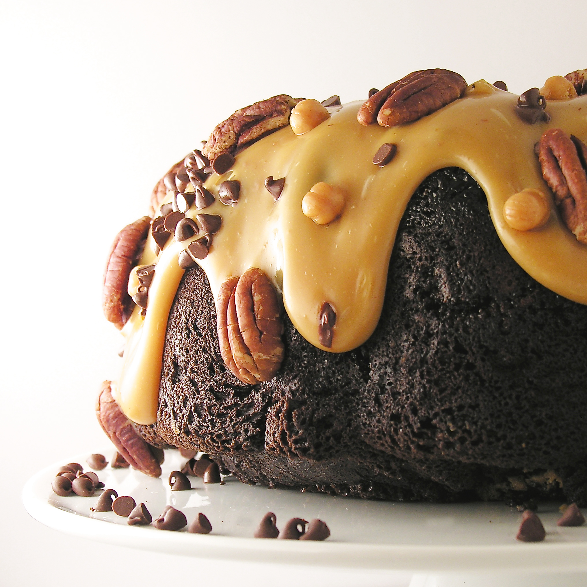 Chocolate Caramel Bundt Cake Recipe