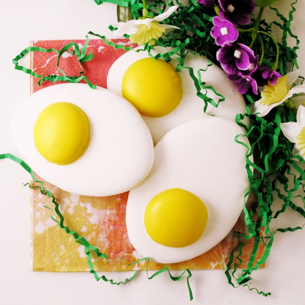 Egg cookies for Easter