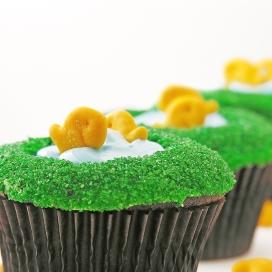 Fish Pond Cupcakes10