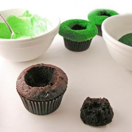 Fish Pond Cupcakes8