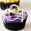 Spider Eggs Cupcakes