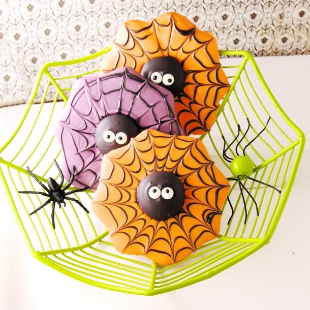 Spiderweb Cookies1