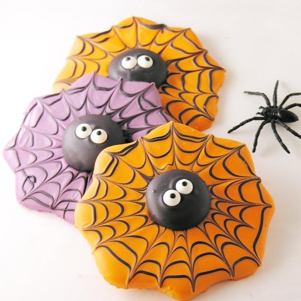 Spiderweb Cookies3